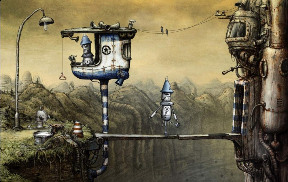 Don't Expect Machinarium 2 Any Time Soon